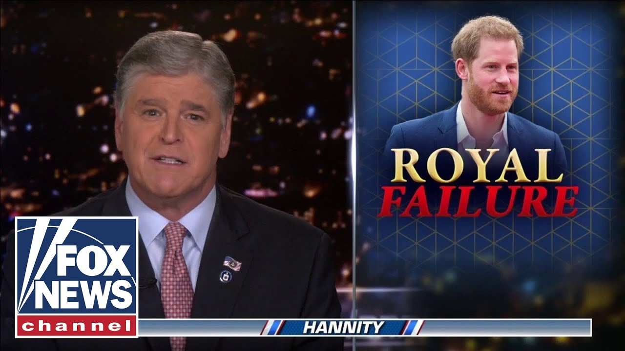 Hannity to Prince Harry: We don't need First Amendment 'lectures' from you
