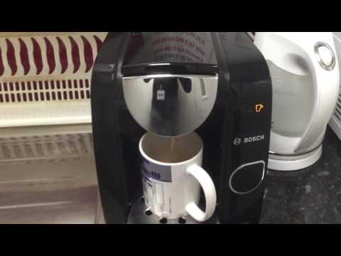 How to make Tassimo coffee