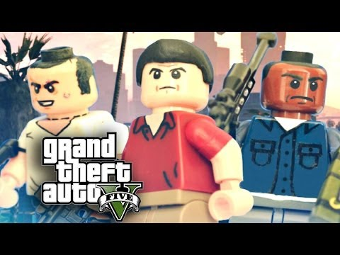 LEGO Grand Theft Auto V : Michael, Trevor, and Franklin - Showcase