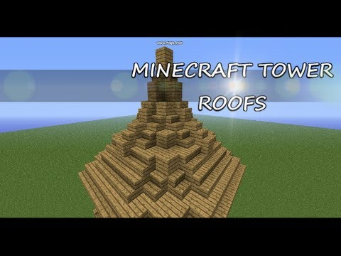 Minecraft How To: Medieval Roof
