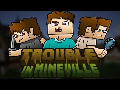 Trouble in Mineville - Launch Trailer (New Minecraft Gamemode!)
