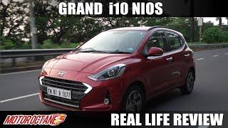 Hyundai Grand i10 Nios Real-life review | Mileage | Hindi | MotorOctane