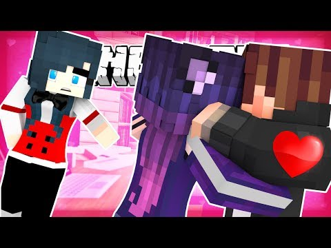 Minecraft - THEY WON'T STOP KISSING! MOVIE THEATER NIGHTMARE!! (Minecraft Roleplay)