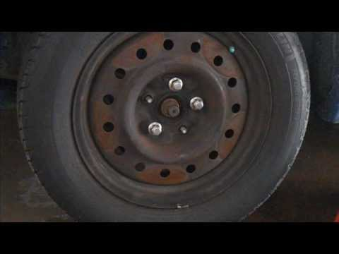 2003 Nissan Altima Front Wheel Bearing Replacement Part 1