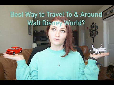 Best Ways to Travel to & Around Disney World   Disney World Trip Planning