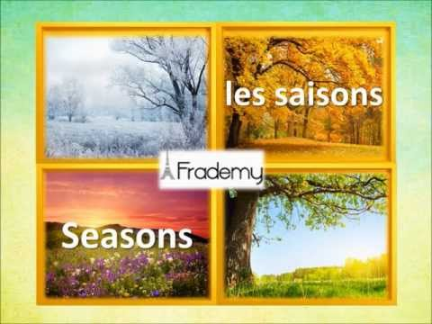 French Vocab: The Seasons in French