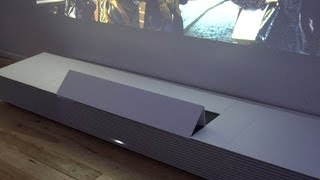 Sony ultra short throw projector is furniture