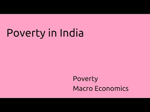 Learn Poverty in India | Poverty | CA CPT | CS & CMA Foundation | Class 11 | Class 12