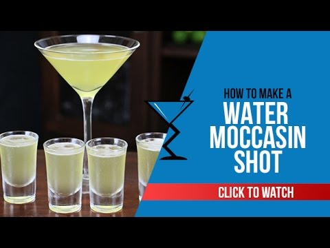 Water Moccasin Shot - How to make a Water Moccasin Shot Recipe by Drink Lab (Popular)