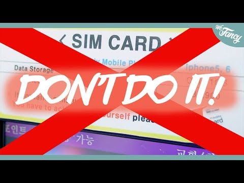 DON'T GET a SIM Card in Korea Until You Watch This Video!