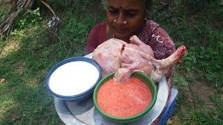 Tomato/Coconut Milk Chicken Recipe - Super Taste - Village Food