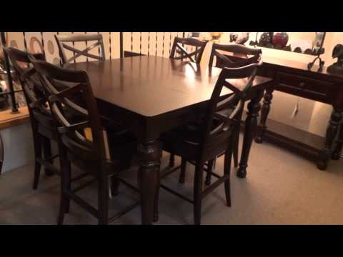 Ashley Porter Counter Height Extension Dining Set Review