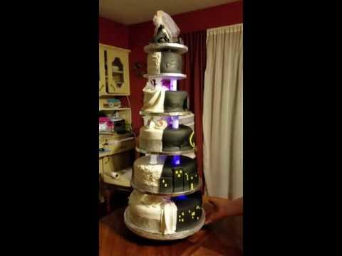 Bling Batman cake