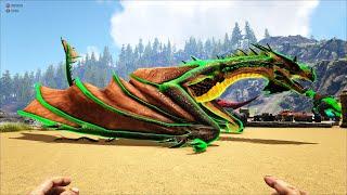 ARK: Ragnarok Mod #10 - Rồng Độc Poison Wyvern Bá Quá Bá Mấy Bạn Ơi, Bắn Độc Tame Thú Đã Luôn 👊