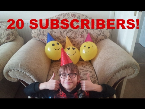 20 SUBSCRIBERS!