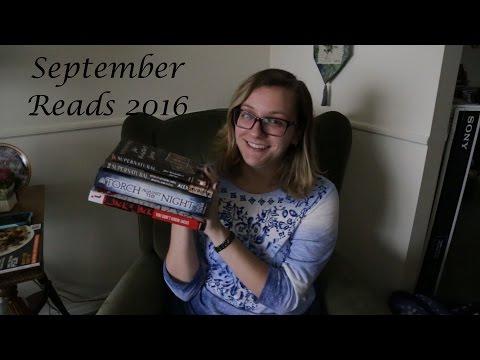 September Reads 2016 || Steph Bloom