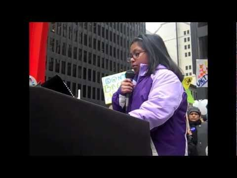 Progress Illinois: Immigration reform rally at Federal Plaza