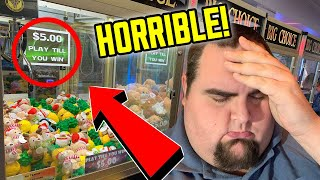 THIS IS THE END OF ALL CLAW MACHINES (GONE FOREVER)