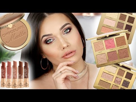 TOO FACED Natural Collection Makeup Tutorial + Swatches