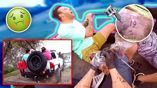 INSANE OFF ROAD TATTOO CHALLENGE.. {BIG MISTAKE}