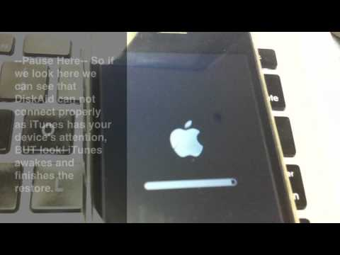 Solution Fix: itunes getting stuck at the end of a firmware restore
