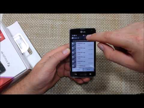 LG Optimus F3 Copy, Transfer or Move files folder photos from internal memory to external sd card