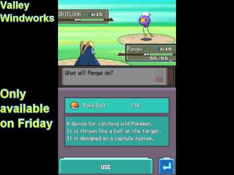 How to get Drifloon (Pokémon Platinum)