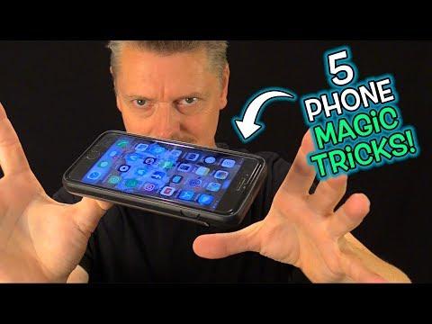 5 AMAZING Phone MAGIC TRICKS! (Secrets Revealed!)
