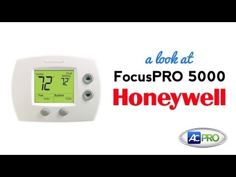Pro 5000 thermostat pro 5 ac pro product spotlight focuspro 5000 thermostat by honeywell fandeluxe Images
