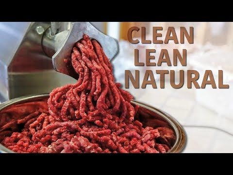 Wild Game Meat Grinding - Making Elk Burger