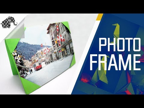 Origami - How To Make An Origami Photo Frame