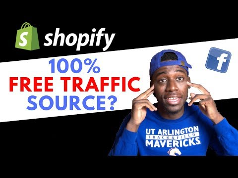 How To Get %100 FREE TRAFFIC to Your Shopify Store in 2018