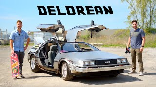 DeLorean Time Machine Review // Driving The Movie Legend