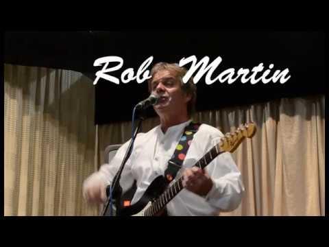 Singer guitarist Rob Martin at Ripley's Greenhillocks Club