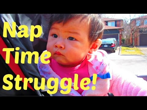 Vlog #14 - Baby weekend fun and nap time struggles!