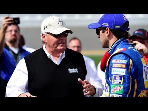 Elliott 'excited' by extension, appreciative of Hendrick's faith in him
