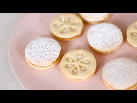 Lime Sandwich Cookies- Sweet Talk with Lindsay Strand