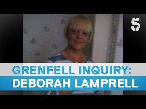Deborah Lamprell remembered at Grenfell Inquiry - 5 News
