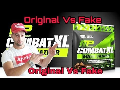 |Mass Gainer MP(Muscle Pharma) Combat Xl Original Vs Fake| Ummer Khan| Health And Fitness Video 2018