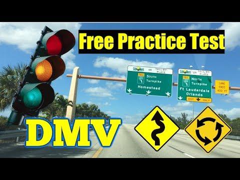 PRACTICE TEST  DMV 2018/ QUESTIONS /DRIVER LICENSE