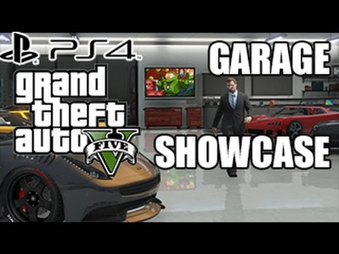 GTA 5 First Person  Garage  Showcase (GTA 5 PS4 GAMEPLAY)