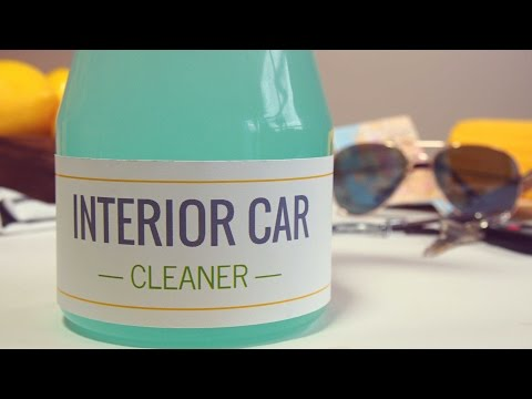 All-Natural Car Cleaning Spray