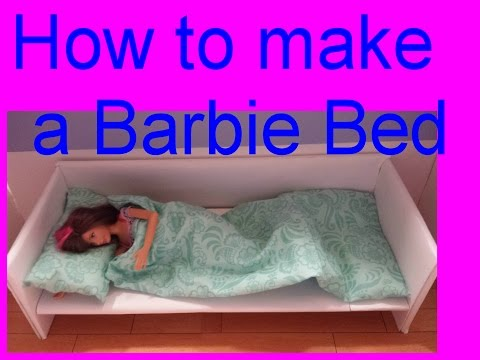 Barbie - How to make a Bed