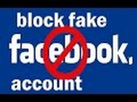 how to block others fake  facebook account/ deactivate fake account/block others facebook account