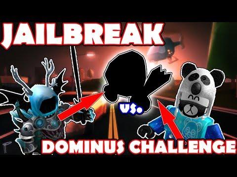 I LOSE My DOMINUS If He ARRESTS Me!! - JAILBREAK ft. Zephplayz ROBLOX