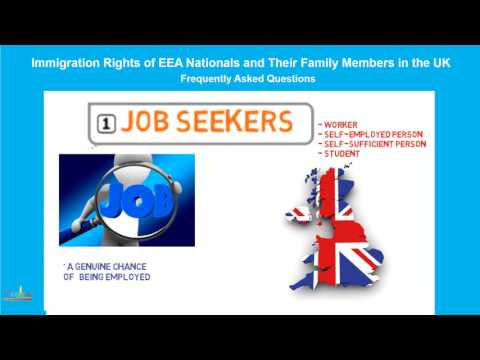 EEA Nationals, Qualified Persons: JOBSEEKERS