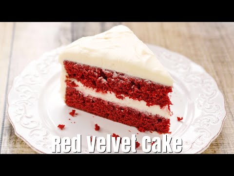 Betty Crocker's Red Velvet Cake With Cream Cheese Frosting-How To Make Cake - Simple Cooking Videos