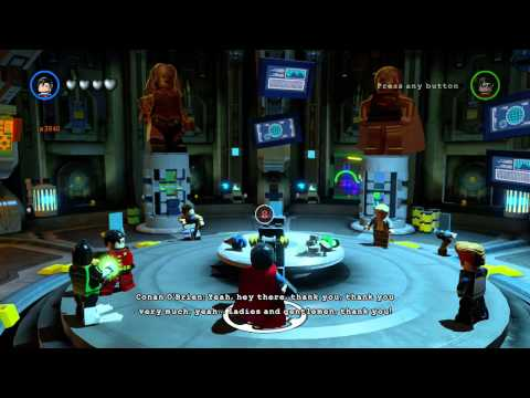 Bat's all, folks Achievement / Trophy 100% LEGO Stud Fountain in LEGO Batman 3