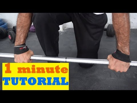 How To use Weightlifting Straps||First Indian Video