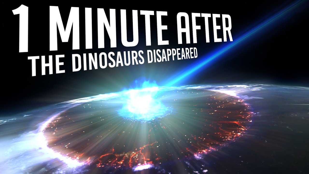 What happened In The First Minutes After The Dinosaurs Disappeared?